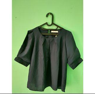 blouse hitam crozy angel