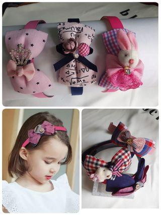 🚚 【現貨】兒童髮箍 韓式夢幻風 甜美公主 小童髮箍 髮飾