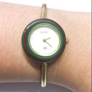 RUSH SALE! Gucci Bangle Watch interchangeable bezel