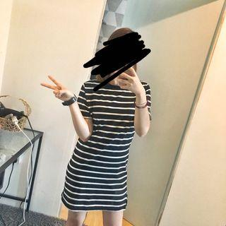 😊 Stripe T-Shirt Dress