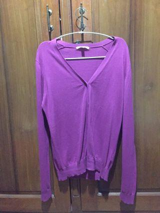 Cardigan Uniqlo L size - only used twice