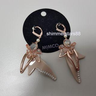 New!Mimco foliage earrings, RRP$79.95