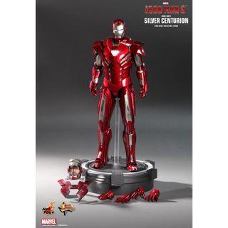 Hot Toys Iron Man 3 Silver Centurion MK33 MMS 213