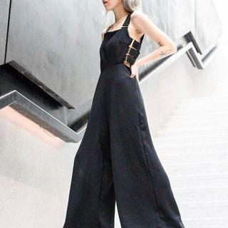 YHF Side View Jumpsuit in Black