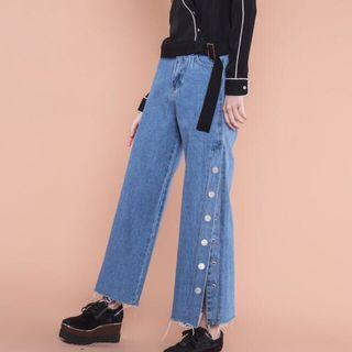 YHF One Way Up Pants in Denim