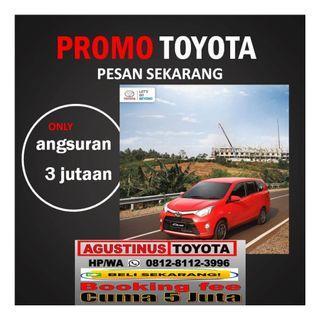 """Promo Toyota Agya  HP/WA""""081281123996"""