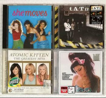 She Moves - Breaking All The Rules t.A.T.u. - Dangerous And Moving Atomic Kitten - The Greatest Hits Amy Winehouse - Lioness : Hidden Treasure_Sealed