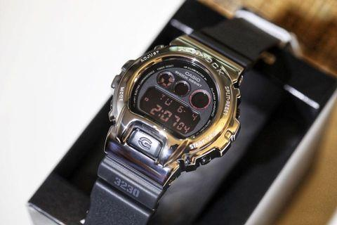 💣 Steel Bezel DW6900 Casio Gshock Unisex Custom with FREE DELIVERY 📦 G-Shock