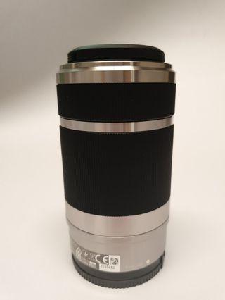 Sony Alpha Camera Lens E 55-210 mm SILVER