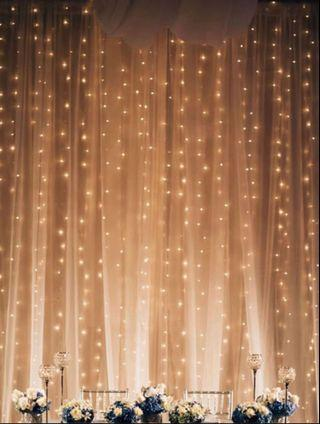 🚚 NEW IN; Classic Curtain Fairy Lights with Remote