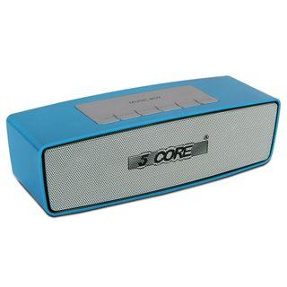 5 Core Music Boy wireless Portable Bluetooth Personal Speaker with USB, TF card, FM, AUX Input