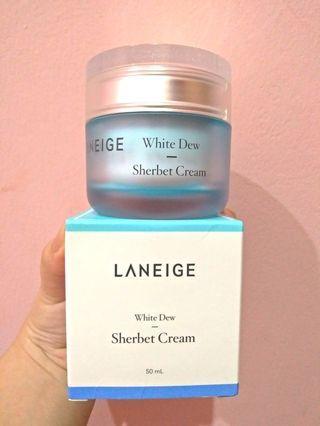 Laneige sherbet cream