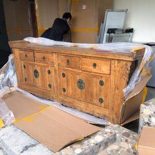 🚚 Chinese Antique Style Sideboard