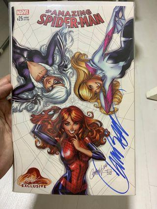 Amazing Spider-Man 25 (signed by JSC)