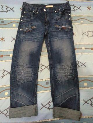 韓系牛仔褲