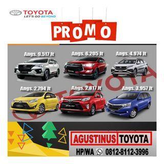 "Promo Toyota Jatiasih HP/WA""081281123996"