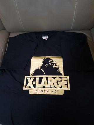 x large tee (黑金特別版)