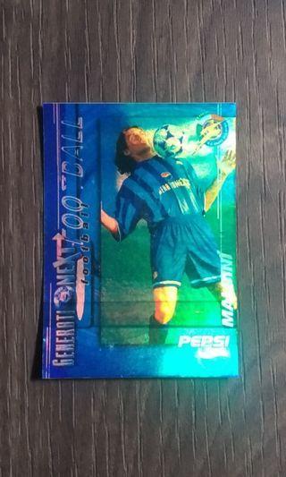 Pepsi Next Generation Football Trading Card - Paolo Maldini