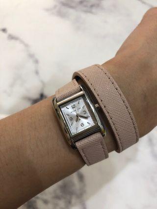 MK雙圈錶帶手錶