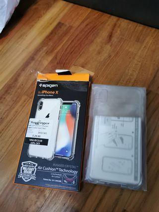 Spigen iphone X casing