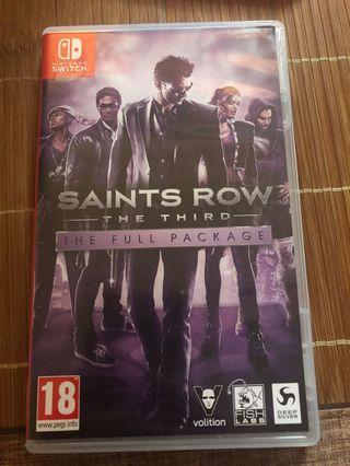 🚚 Switch saints rowthe third
