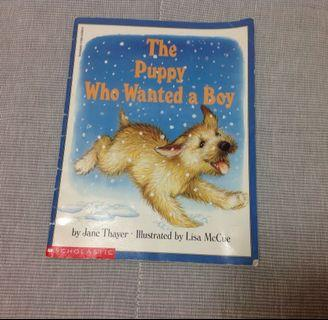 🚚 英文童書(The Puppy Who Wanted a Boy)