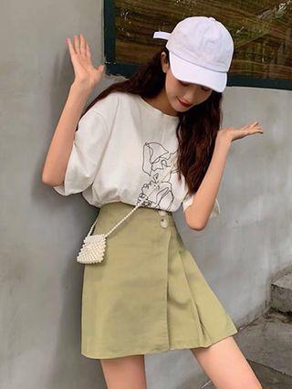 🚚 A line skirt