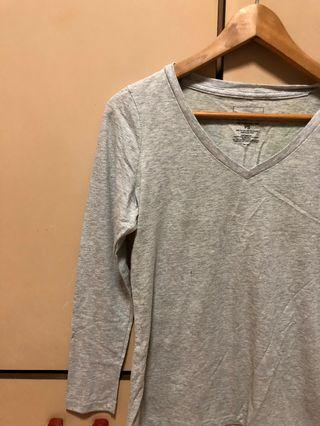 🚚 Grey Long sleeve with glitter