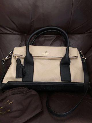 kate spade 2way bag leather 袋
