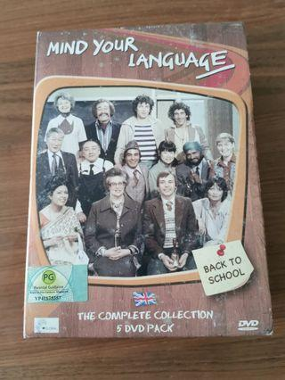 🚚 Mind your language DVD set