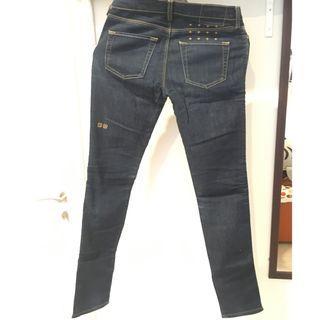 Ksubu jeans 28 super skinny raw indigo