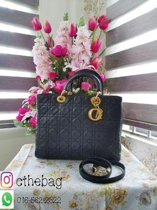 Authentif Lady Dior Large with Strap