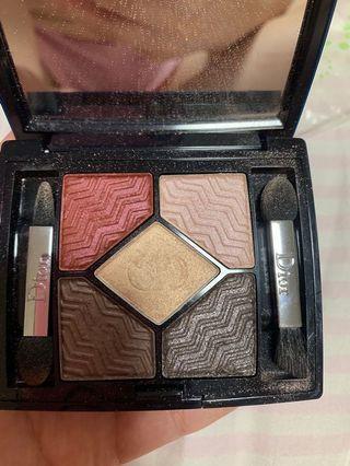Dior 眼影 紅色