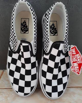 Vans Slip On - Mix Checkerboard Oroginal
