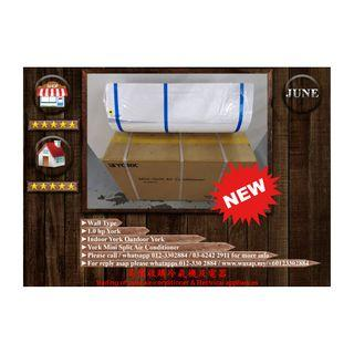 York 1HP Wall Type Air Conditioner