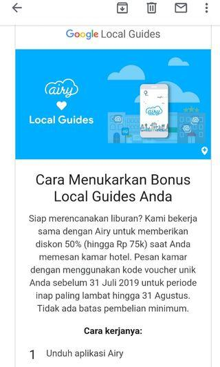 Voucher Diskon 50% Airy Rooms (disc up to 75k)