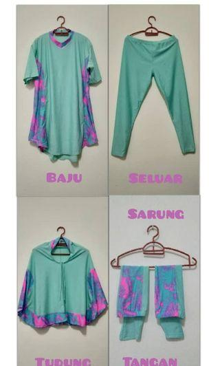 Preloved Swimming Suit Muslimah #MGAG101