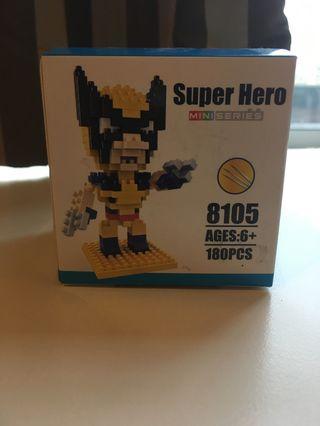 Nanoblock Wolverine