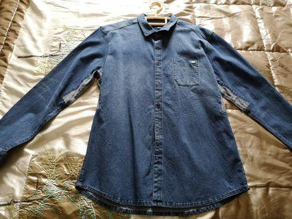 Esprit Vintage Denim Jacket for men.