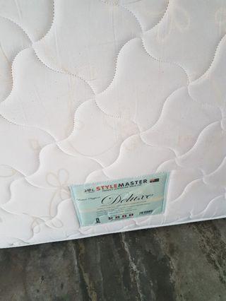 Single pocket spring mattress
