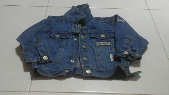 Denim jacket for toddler