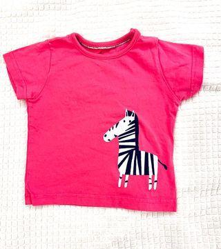Zebra print baby t-shirt from mark & spenser