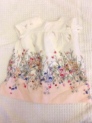 Baby Floral Dress from Zara