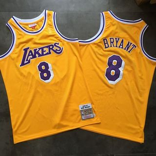 c5406e0604b Kobe Bryant LA Lakers NBA Mitchell n Ness swingman throwback jersey