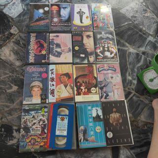 16 Video Tapes Bundle