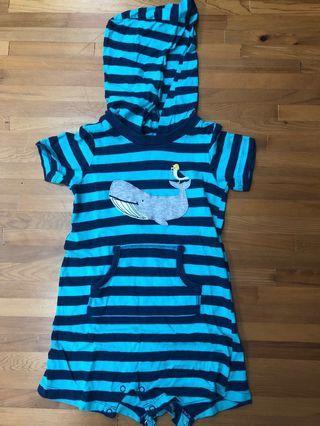 二手 Carter's 嬰兒連身衣包屁衣 (已剪標) 24M