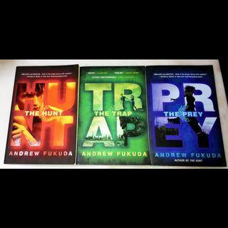 Hunt, Trap and Prey by Andrew Fukuda book set