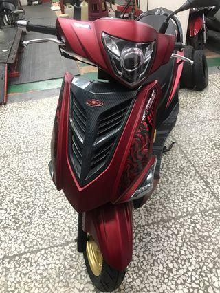 彪虎150 ABS版 原廠魚眼