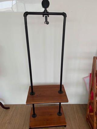Designer hanging rack for sell. ( dismantle ) no bargain