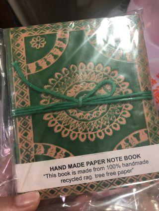 Indian notebook